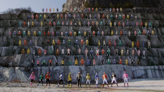 All of the Super Sentai